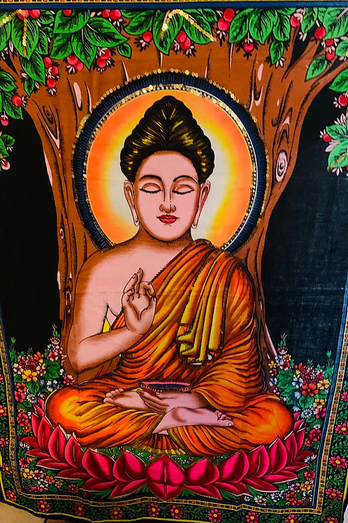 Buddha Tapestry/Wall Hanging 30X40""