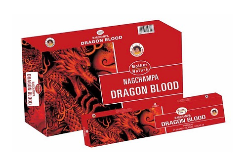 Mother Nature Dragon Blood - incense 10count