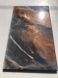 Broze and Gray Granite