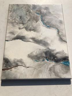 Carrara Marble, Blue Veins