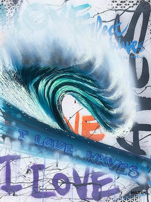 """Phantoms"" - I Love Waves Series"
