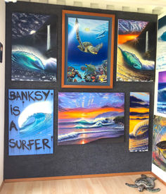 art gallery wyland galleries haleiwa kahuku painting