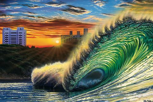 'Bom Dia Praia do Tombo'