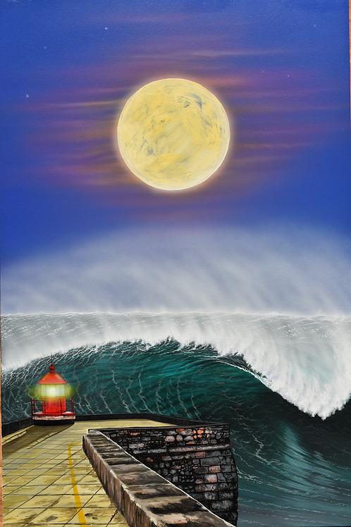 """""""The Legend of Nazaré waves"""""""