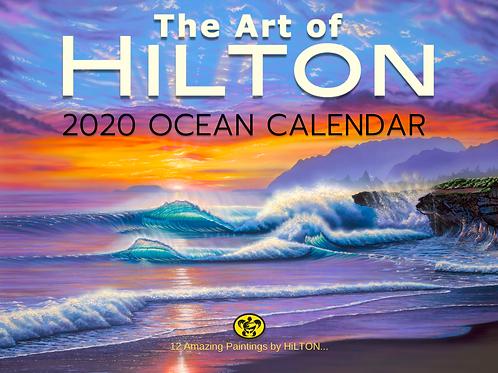 2020 OCEAN CALENDAR