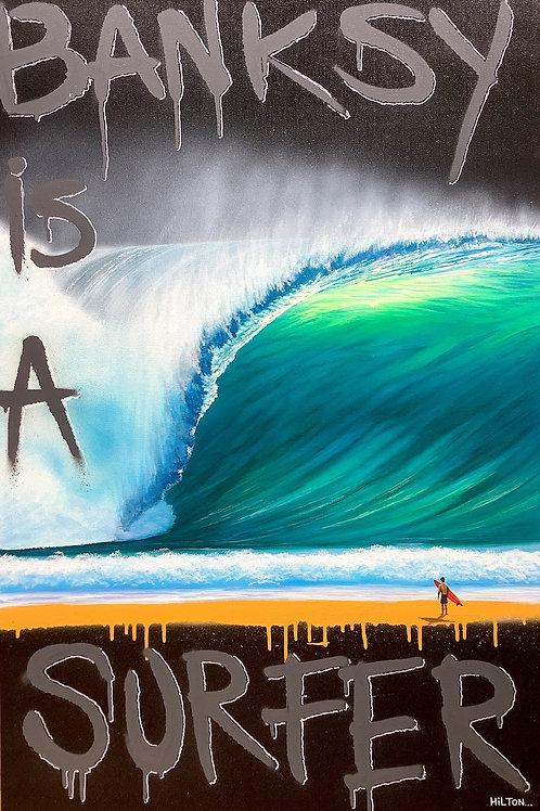 Banksy is a Surfer #2