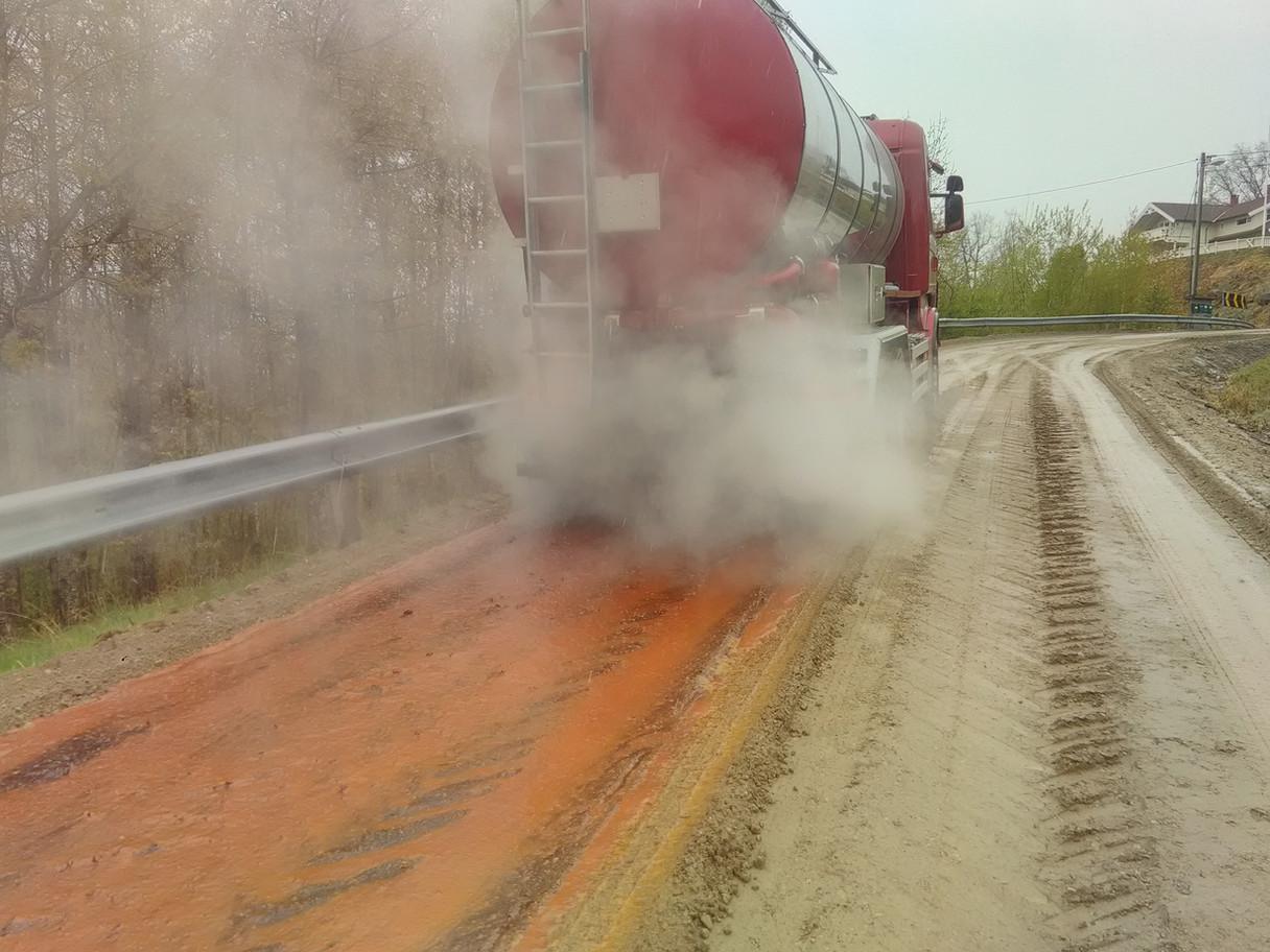 Dustexutlegging, Bø Kommune