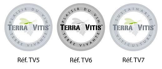 Macarons logo Terra Vitis