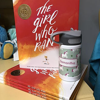 This amazing book, The Girl Who Ran, tel