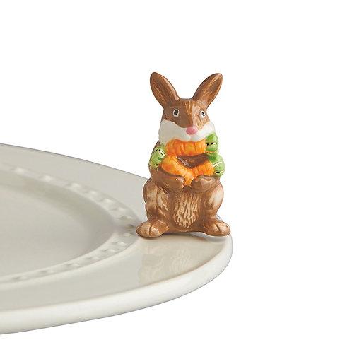 Bunny with carrots mini