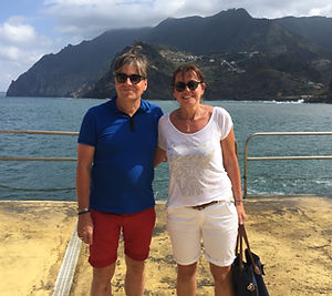 Henning Schroeder und Martina Fauth