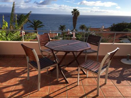 Kommen Sie auf die Blumeninsel in die Villa Pertodomar #Ferienwohnung #Madeira #Urlaub