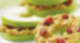 Elmalı Simit Snack tarifiyle, fıstık ezmesi, bal ve elmanın eşsiz lezzetini keşfedin.