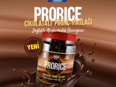 Prorice Çikolatalı Pirinç Patlağı ile Tanıştınız mı?