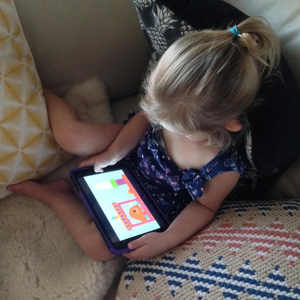 iPad screentime