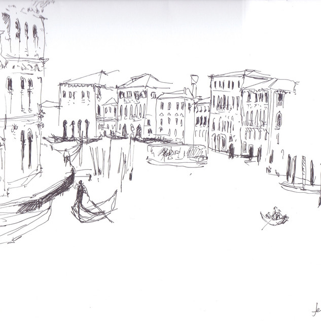 Gondoliers from the Rialto