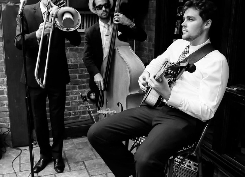 The trio performs at Bourbon Street Bar And Grill