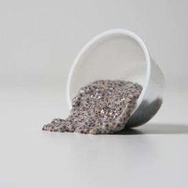 Vanilla Chia Pudding * High in Omega 3 fatty acids * High in protein and fiber which keeps you full long after eating