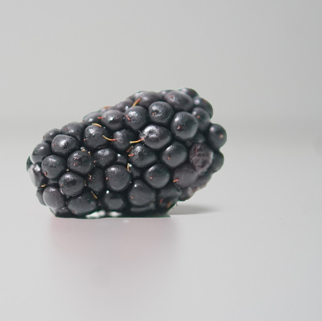 Blackberries * Packed with vitamin c and vitamin k