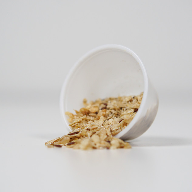 Assorted Granolas * Contains both soluble and insoluble fiber which help regulate the digestion of food * Reduces LDL (bad) cholesterol and boosts energy levels and cognitive functions