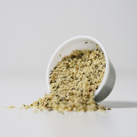 Hemp Seeds * Complete plant-based protein (contains all 9 essential amino acids) * Good source of fiber, omega-3 and omega-6 fatty acid
