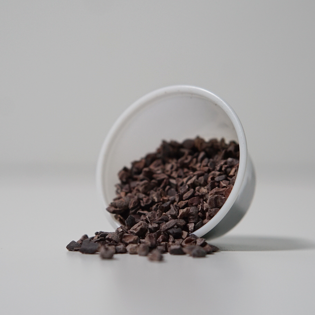 Cacao Nibs * Excellent source of essential fatty acids and minerals