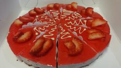aardbei bavaroise taart