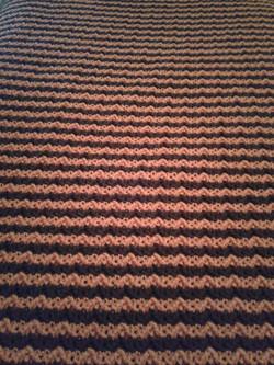 Medium Coffee & Carrot Blanket - Larks F