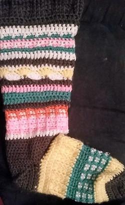 Adult MultiColored Socks-Empty