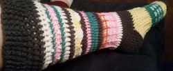 Adult MultiColored Socks-Side