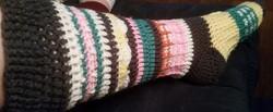 Adult MultiColored Socks-Side