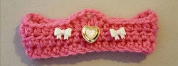 Infant Crown with Jewels - Pink