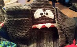 Shark Child Size Winter Hat - Simple Crochet.jpg