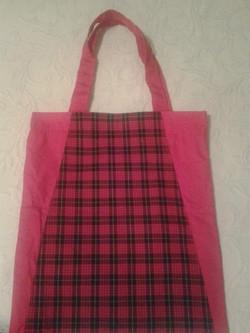 Large Red Checkered Handbag - Simple Sewing.jpg