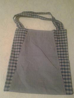 Medium Green Checkered Handbag - Simple Sewing.jpg