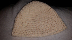 Cream Adult Beanie Hat with Seashells - Simple Crochet.jpg