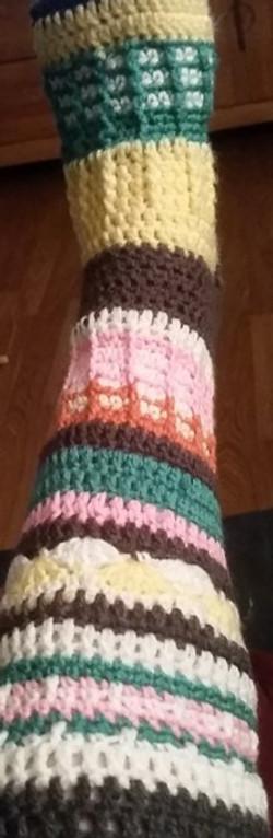 Adult MultiColored Socks-Straight