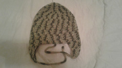 Camo Adult Size Winter Hat (flaps) - Simple Crochet