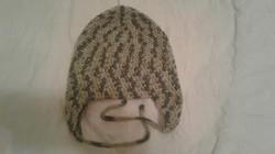Camo Adult Size Winter Hat (flaps) - Simple Crochet