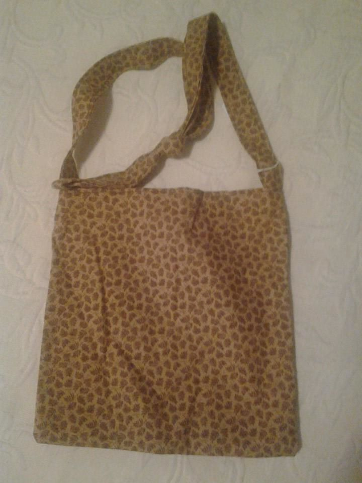 Small Yellow Leopard Print Handbag - Simple Sewing.jpg