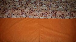 Medium Orange Quilted Lap Blanket - Simple Sewing