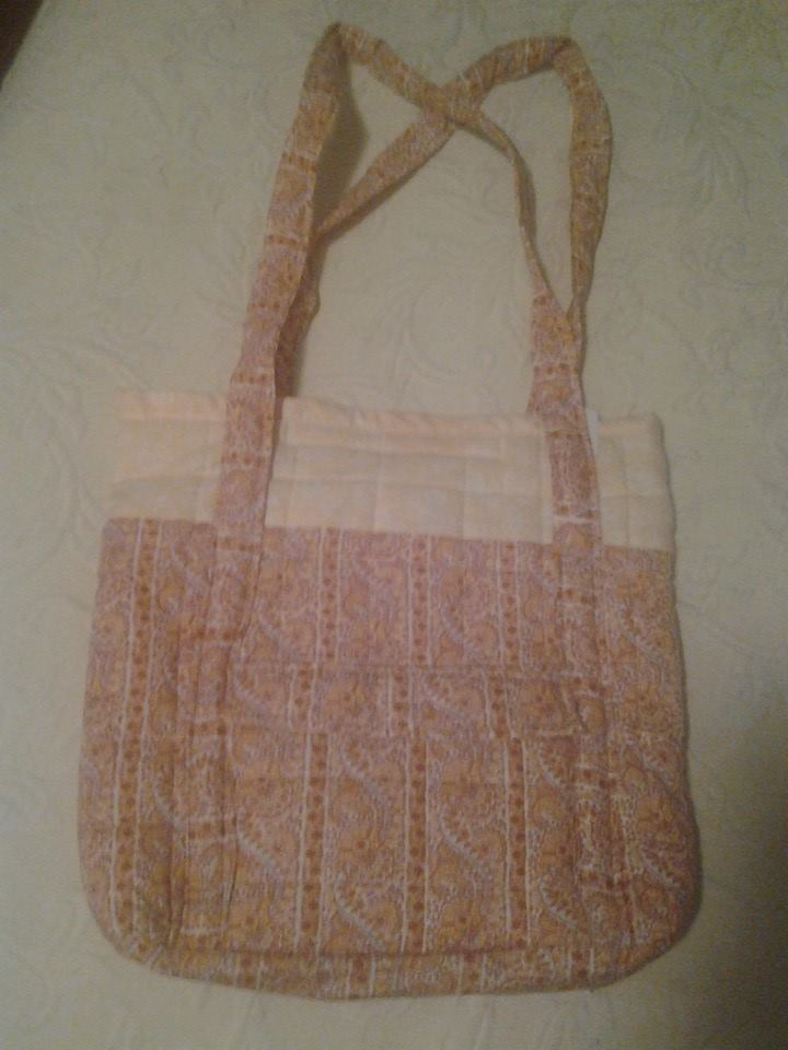 Orange Pattern Quilted Handbag - Simple Sewing.jpg