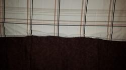 Small Brown Lap Blanket - Simple Sewing