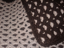 Medium Brown Blanket - Double Sided Stit