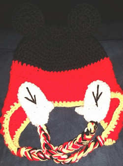 Mickey Mouse Child Size Hat - Simple Crochet.jpg