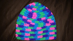 Ponytail Child Size Winter Hat (3) - Simple Crochet.jpg