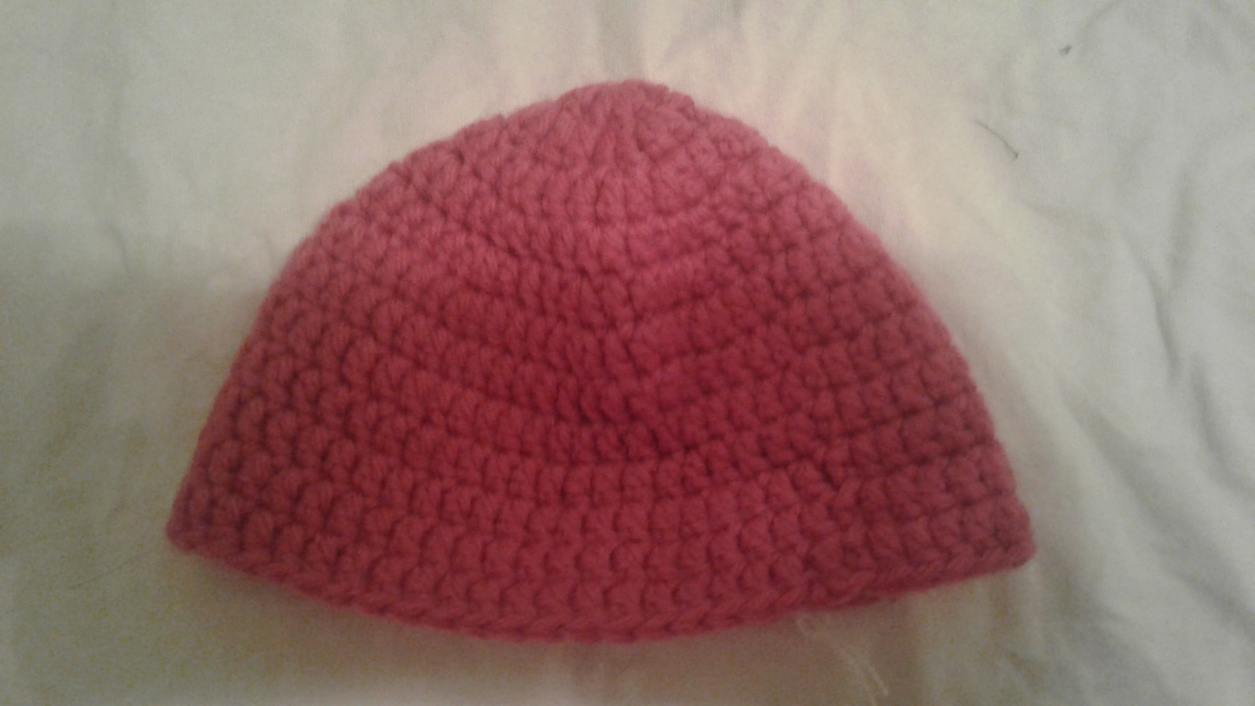 Child Beanie - Light Red