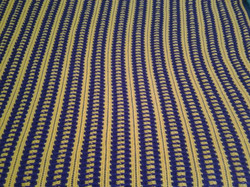 Medium Amethyst & Gold Blanket -Strips S