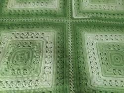 Medium Green Apple Blanket - Lunar Cross