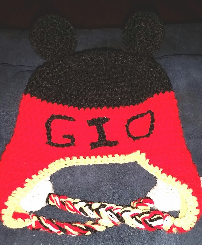 Mickey Mouse Child Size Winter Hat (w Name) - Simple Crochet.jpg